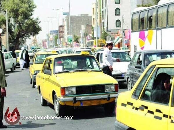 تردد تاکسی پیکان ممنوع شد