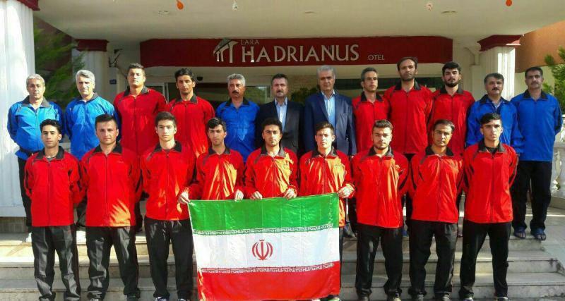 کونگ فوکاران کردستانی بر سکوی سوم رقابت های کاپ آزاد جهانی ترکیه ایستادند