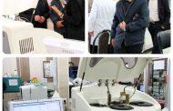 اختصاص یک دستگاه اتوآنالایزر بیوشیمی به آزمایشگاه مرکز بهداشت سقز