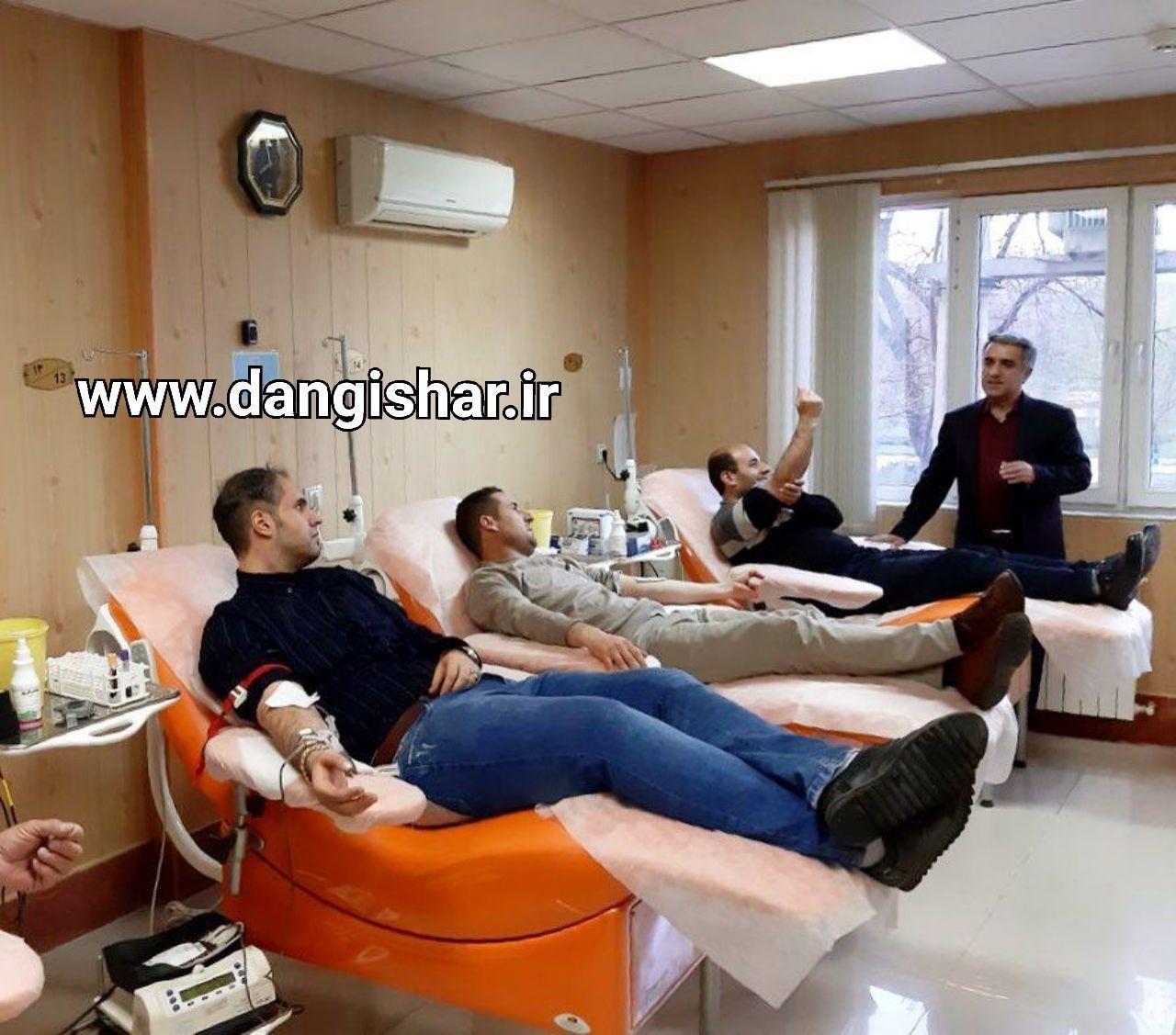 در سال گذشته 9623 داوطلب اهدای خون در مرکز انتقال خون سقز پذیرش شدند