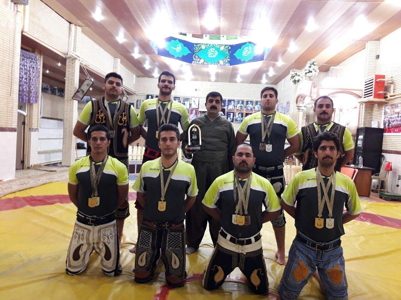 کردستان فاتح رقابتهای پهلوانی و زورخانه ای کشور