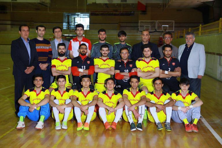 تیم ساکا پخش سقز نماینده استان کردستان در رقابتهای فوتسال دسته یک کشور