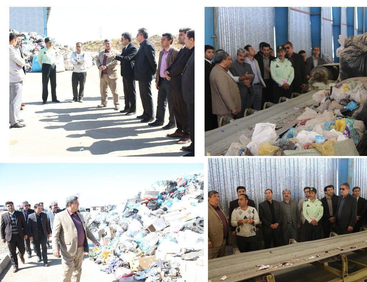 بازدید مسئولان از کارخانه بازیافت طلای کثیف
