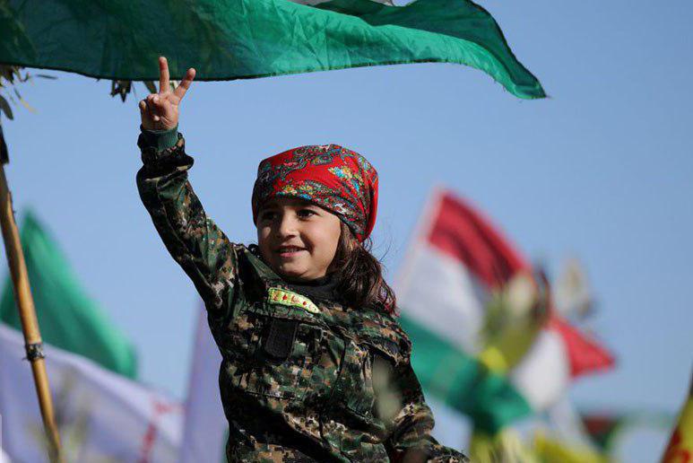 سوریه با حمایت از کردها در مقابل ترکیه چه اهدافی را دنبال می کند؟