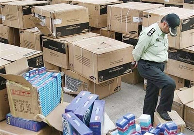 توقیف کالای های خارجی قاچاق به ارزش یک میلیارد و دویست و پنجاه میلیون ریال در بوکان