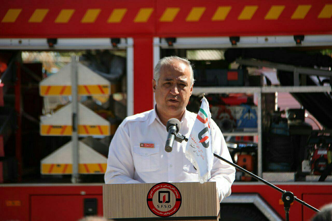 آمادگی تیم غواصی سازمان آتش نشانی سقز