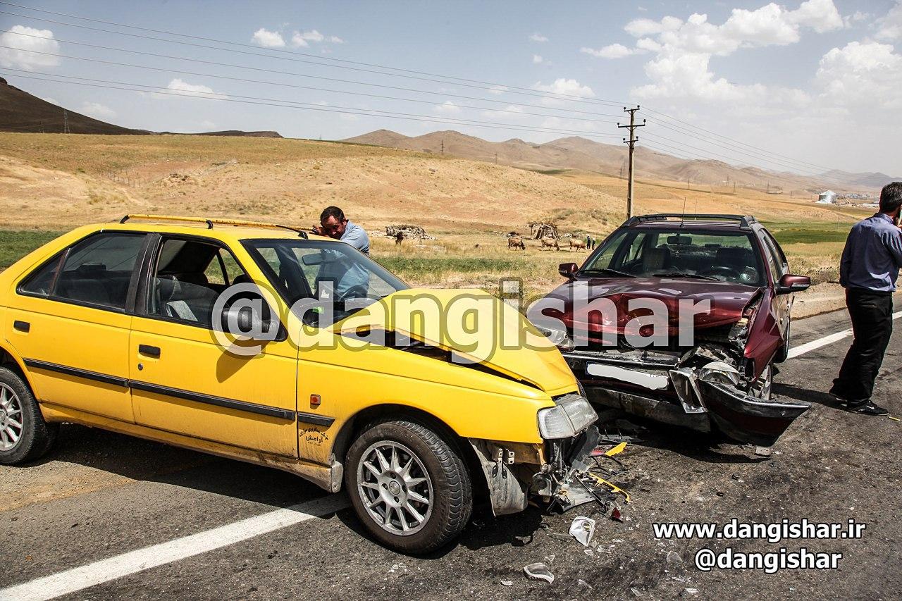 5 کشته و زخمی در محور سقز - بوکان
