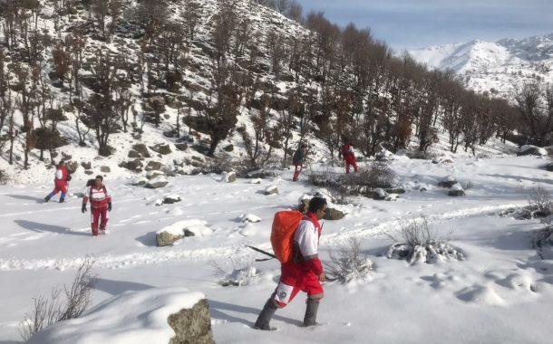 عملیات جستجو و نجات جهت پیدا کردن کولبر مفقودی در ارتفاعات برویشکانی شهرستان بانه همچنان توسط عوامل امدادی ادامه دارد