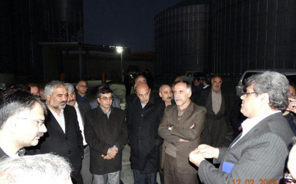افتتاح افزایش ظرفیت ۲۰ هزار تنی سیلوی کارخانه آرد گلنام آزادی