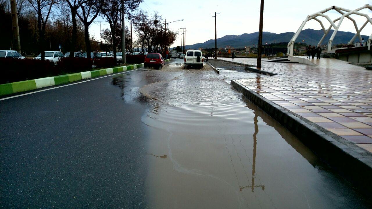 احتمال سیلاب و آبگرفتگی معابر طی هفته آینده در سقز
