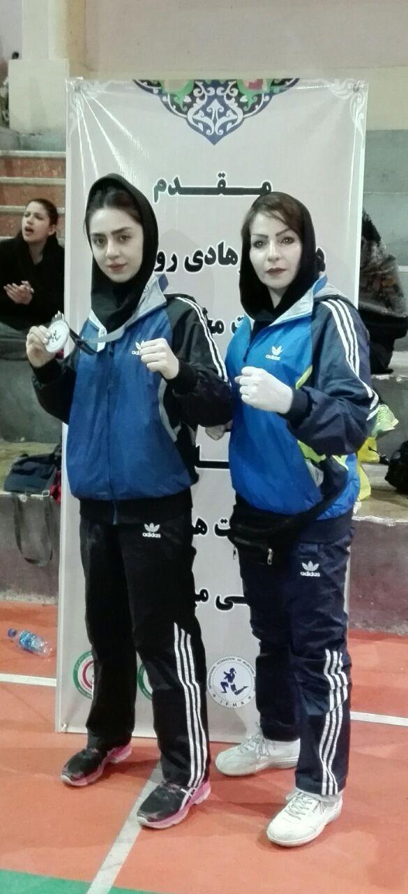 دختران موی تای کار کردستانی صاحب دو نشان نقره و برنز رقابت های کشوری شدند