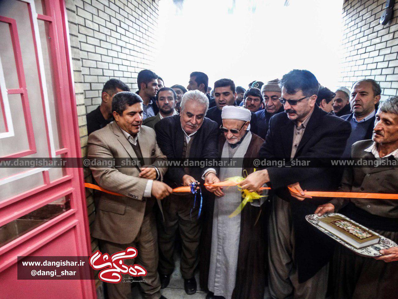 افتتاح مدرسه 3 کلاسه زنده یاد شاهو کریمی در روستای کانی جشنی