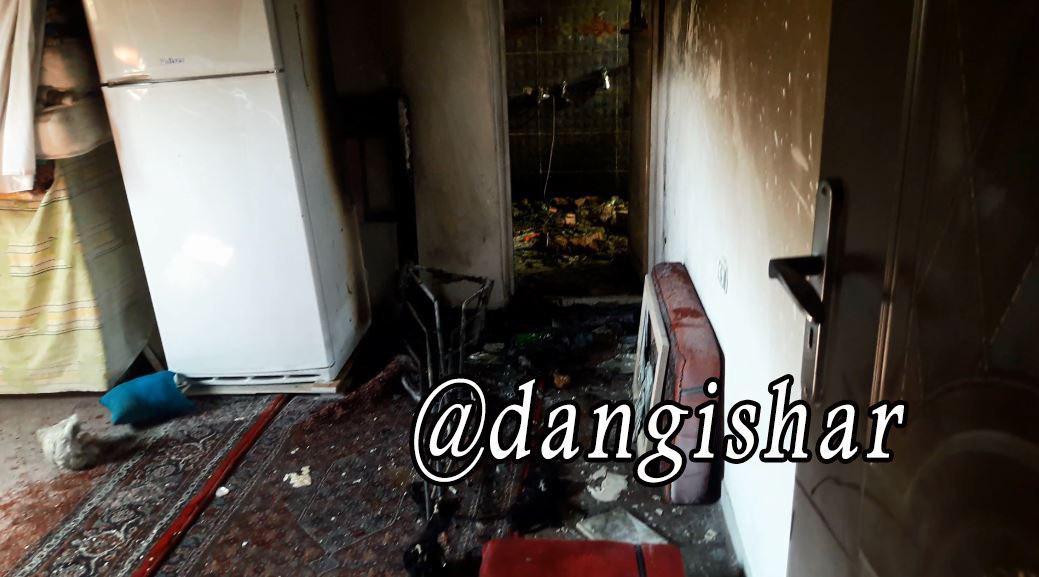1 کشته در آتش سوزی منزلی مسکونی در سقز