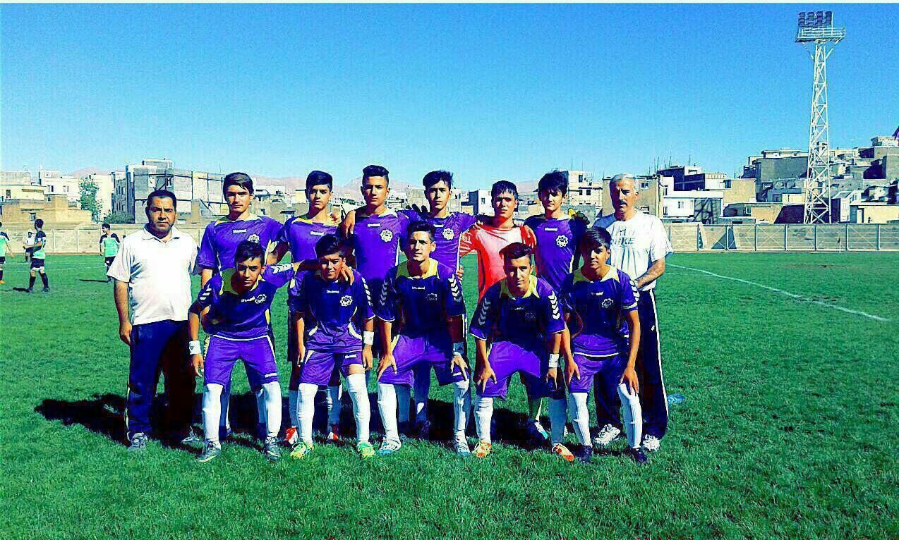 پیروزی پر گل تیم فوتبال  شهرداری نونهالان سقز در هفته پنجم  مسابقات فوتبال لیگ برتر استان کردستان