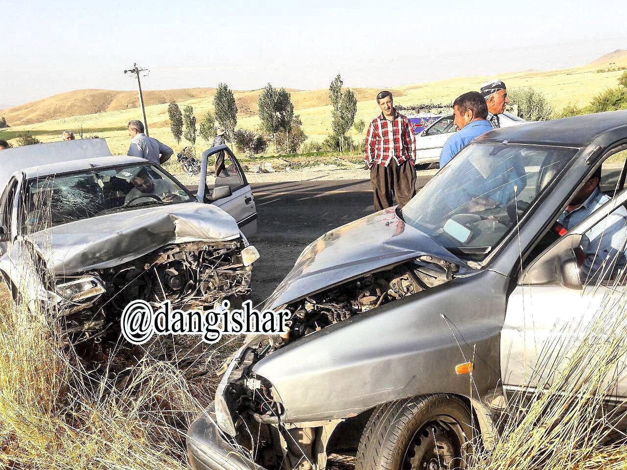 روز پرحادثه در جاده فرعی صاحب گلتپه با 11 مصدوم