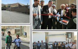 افتتاح پروژه آسفالت در 8 روستای شهرستان سقز