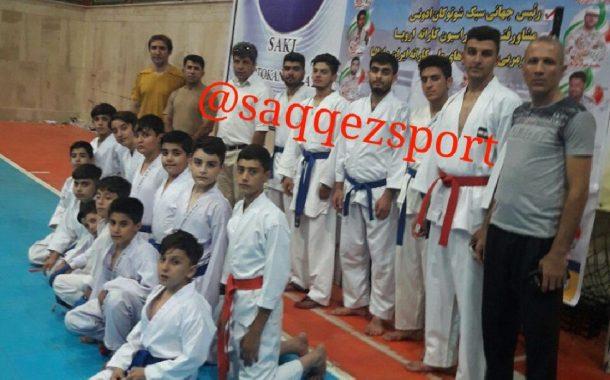 کسب مدال های رنگارنگ از مسابقات قهرمانی کاراته کشور