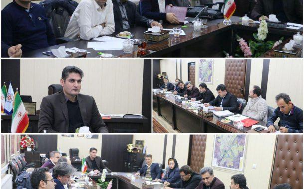 برگزاری اولین جلسه کمسیون سرمایه گذاری شهرداری سقز