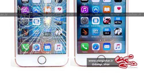 3 توصیه در مواقع شکستن صفحه گوشی اپل