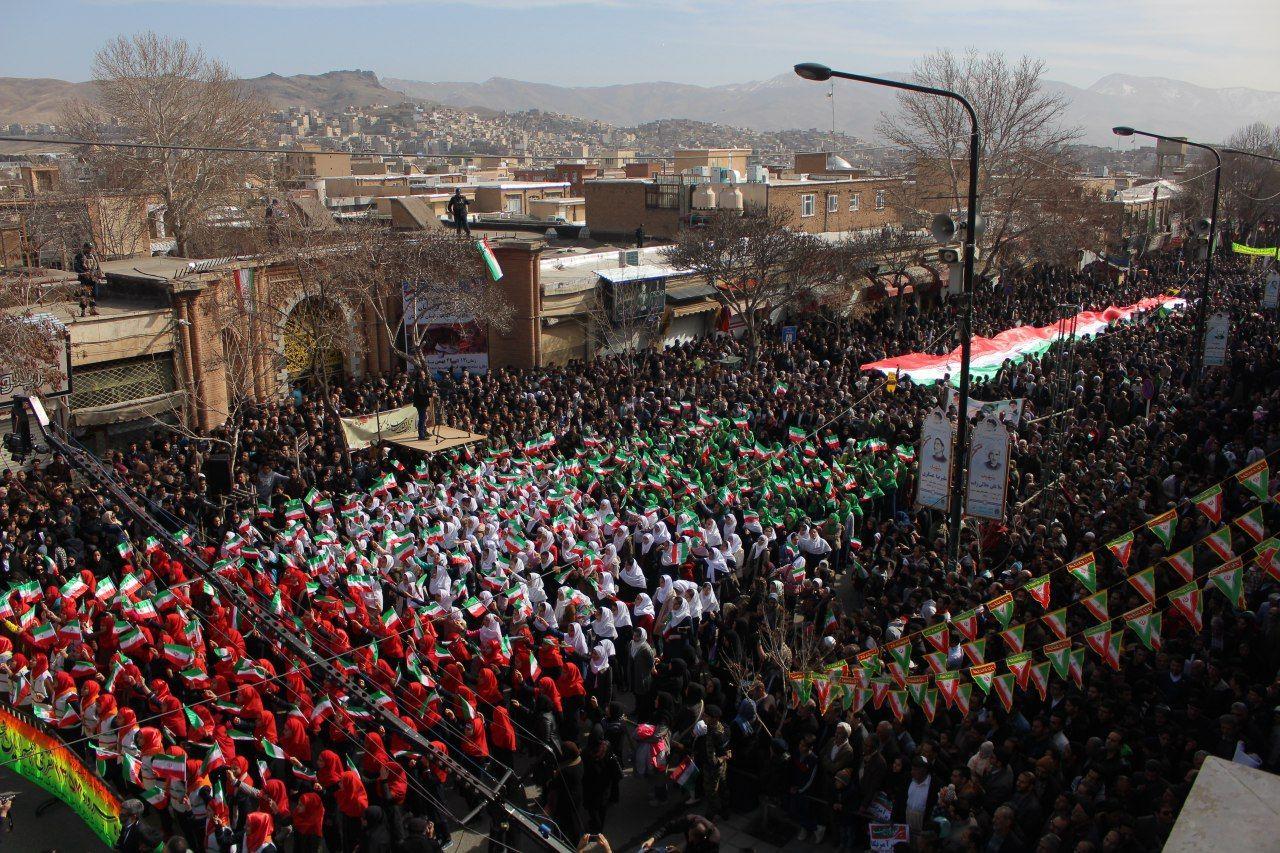پیام تشکر استاندار کردستان به مناسبت شرکت گسترده مردم در راهپیمایی باشکوه ۲۲ بهمن