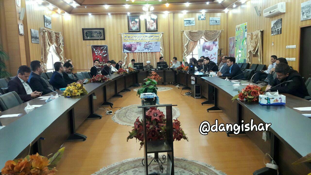  نشست اعضای شورای شهر سقز با مدیران و کارشناسان روابط عمومی ادارات شهرستان سقز