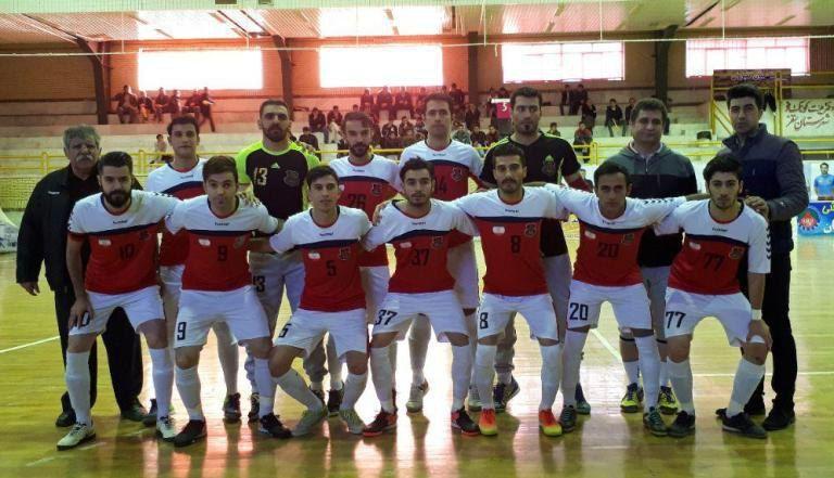 پیروزی تیم ساکا پخش سقز در هفته هجدهم رقابت های فوتسال لیگ دسته یک باشگاه های کشور