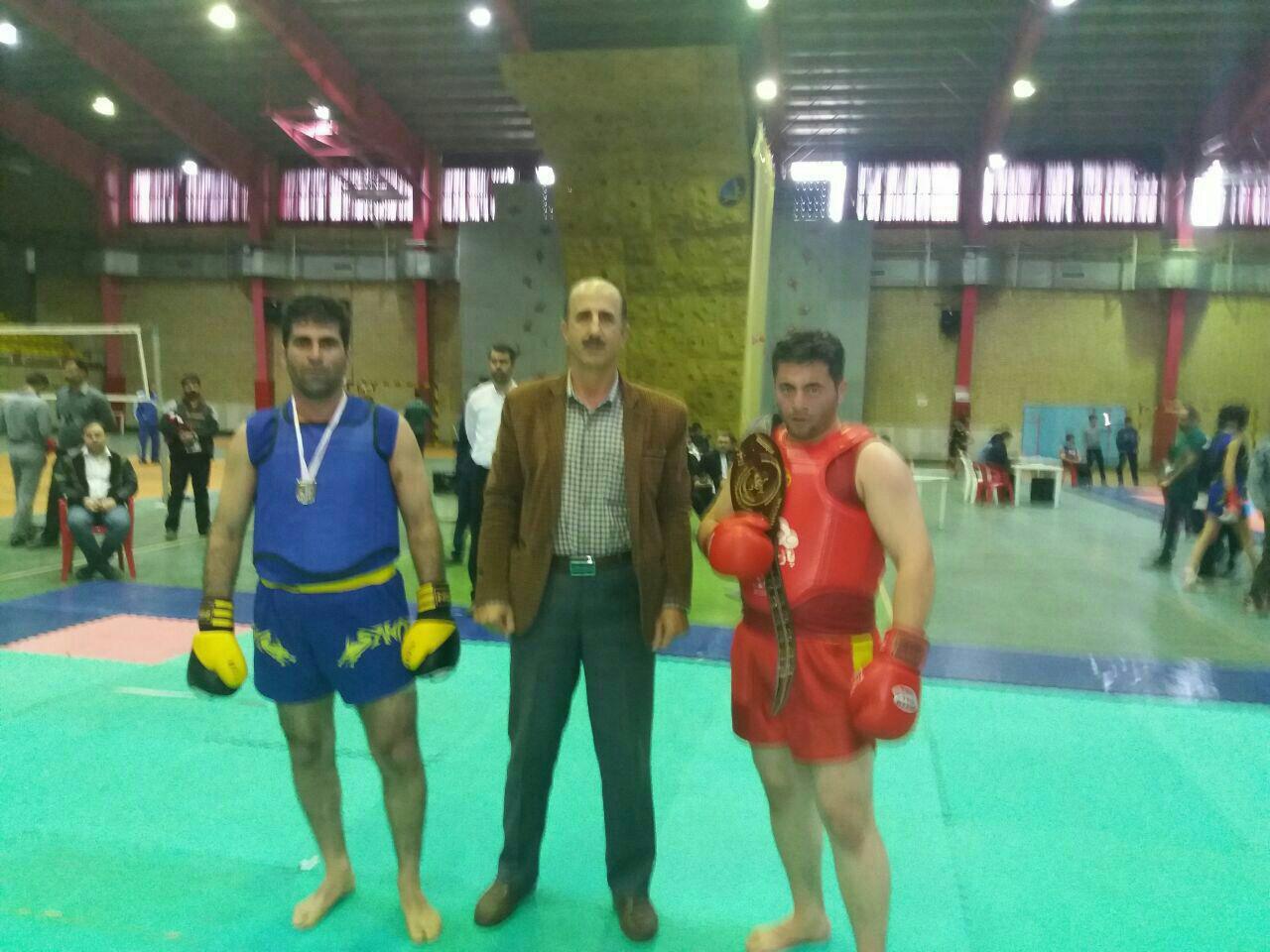 افتخار آفرینی ووشو کاران سقزی در مسابقات قهرمان کشوری  مازندران