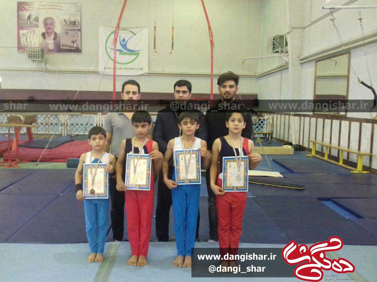 برگزاری مرحله دوم مسابقات لیگ ژیمناستیک نونهالان کردستان  در سنندج
